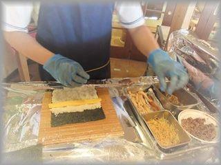 穴子巻き寿司1