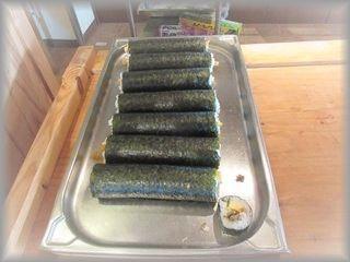 穴子巻き寿司2